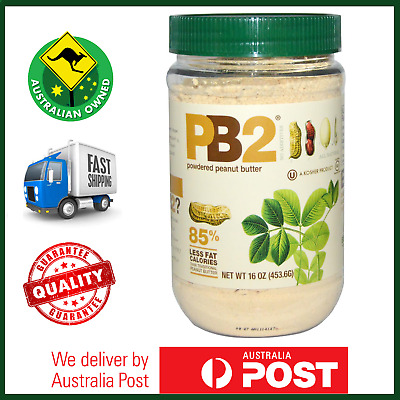 BIG BOTTLE VALUE: PB2 Vanilla Natural Powdered Peanut Butter 453g - LOW CALORIE