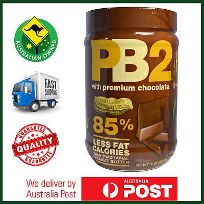 BIG BOTTLE VALUE: PB2 Chocolate Natural Powdered Peanut Butter 453g LOW CALORIE