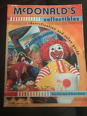 Mcdonald's Happy Meal Toys Collectors Price Value Guide Book 1979-1996 Duvall