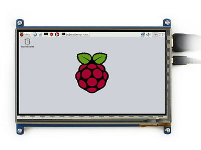 Raspberry Pi 7inch HDMI LCD 1024×600 IPS Touch Screen Supports Windows 10/8.1