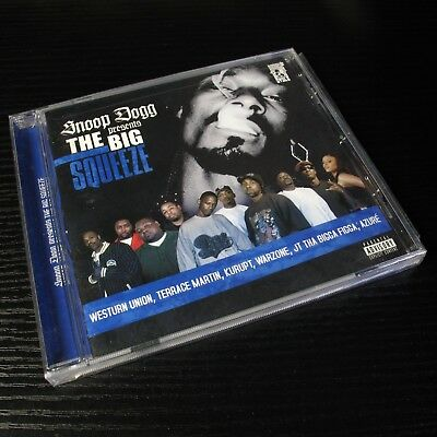Snoop Dogg Presents The Big Squeeze USA CD Sealed NEW Explicit Version #20-1*