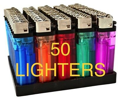 (50) Toyo Disposable Cigarette Lighters  Standard Size case