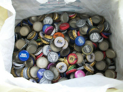 1000 beer bottle caps coors bud miller assorted craft project design
