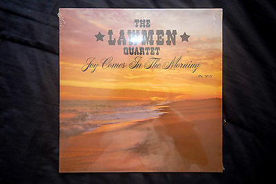 The Lawmen Quartet - JOY COMES IN THE MORNING -New, Mint, Unopened Gospel LP
