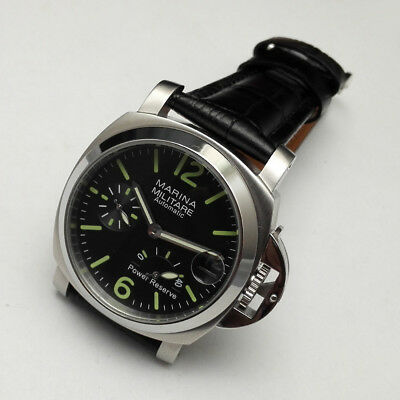 PAM UHR Automatic mens Watch Armbanduhr mm Military Power Reserve Mechanical