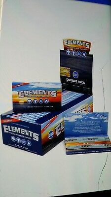 ELEMENTS Rolling Papers SINGLE WIDE 1.0 Element 25 Pack SW Ultra Thin Rice paper