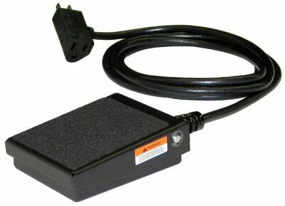SSC Controls S100-1501 Foot Switch, Electrical, Momentary Action, Made in USA,