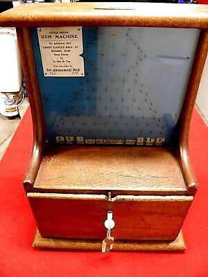 Vintage Little Dream Penny Drop Stimulator Machine, 1920's, Pin Field, Wow!