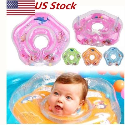 US Swimming Neck Float Inflatable Ring Safety FOR Newborn Baby Infant Child NEW