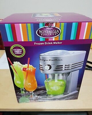 Nostalgia Electrics Fozen Drink Maker - New Never Opened