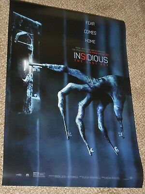 "Insidious The Last Key ""B"" vg 27x40 Original D/S Movie POSTER"