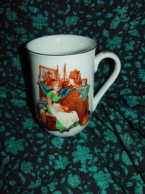 Norman Rockwell Museum Collections Dreams In The Antique Shop Cup 1986
