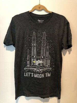 Firefly Serenity Let's Moon 'Em Shirt Loot Cargo Crate Exclusive Medium