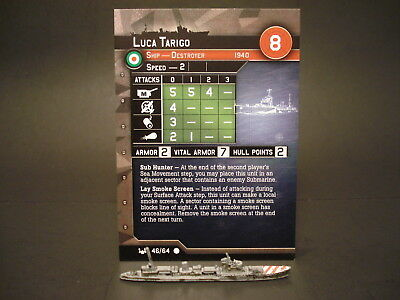Axis and Allies War at Sea - 46/64 Luca Tarigo - Destroyer (C) - IT(#25)