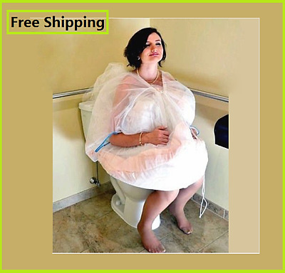Bridal Buddy Underskirt! Use the Bathroom in Your Wedding Gown on Your Own