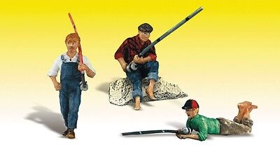 Woodland Scenics-Scenic Accents(R) Figures -- Fishing Buddies - G