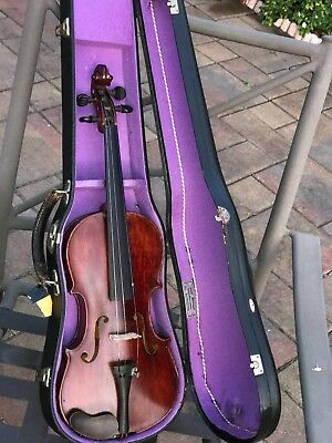 Vintage  Corners  Blocked  American Labelled Full-Size Acoustic Violin.