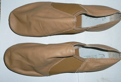 Jazz Shoes NEW UNUSED Light Tan FREE POSTAGE WITHIN AUSTRALIA