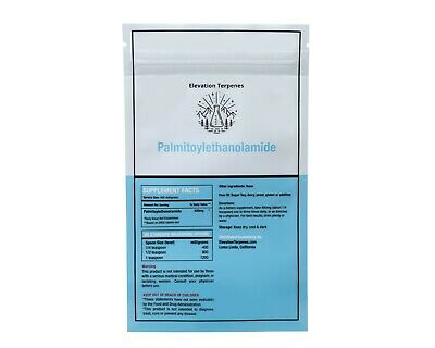 USA LAB TESTED Food Grade Palmitoylethanolamide Bulk Powder Elevation Terpenes