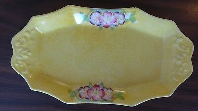 james Kent Small Oval serving dish yellow