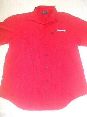 New Snap On Collectable Embroidered Collared 2Xl Shirt Car Racing Teflon Treated