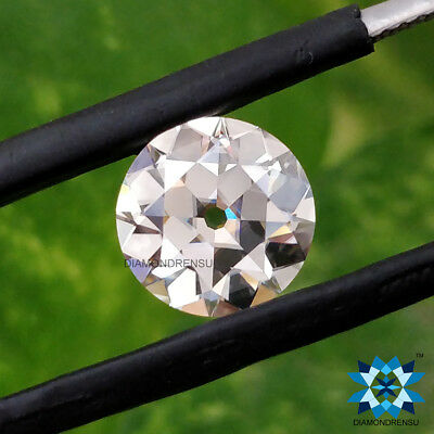 3.00 mm to 8.00 mm OEC VVS WHITE G-H-I Loose Old European Cut loose moissanite