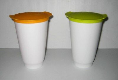 Tupperware Alegra tall cup 450ml x 2 bnwot