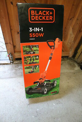 Black Decker 3 in 1 strmimer mower 240v ST5530CM-GB