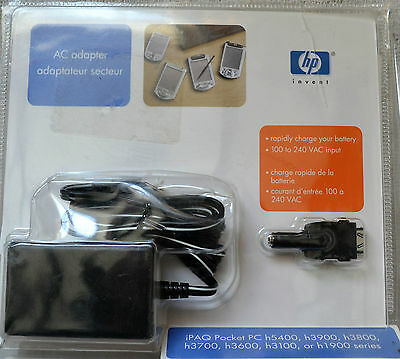 HP AC Power Adapter Power Cord Cable 100 - 240 VAC Input Rapid Charge 253629-031