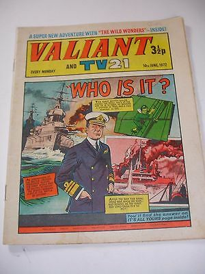 VALIANT And TV 21 comic 10th June 1972