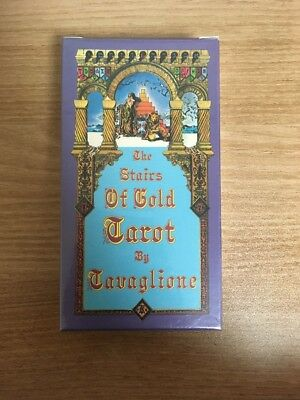 The Stairs of Gold Tarot by Tavaglione OOP NEW RARE