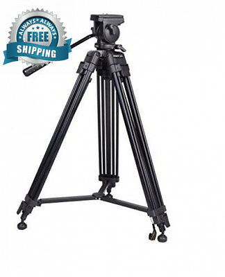 SOMITA Professional Video Tripod ST-650, 65mm Bowl, 62 inch height, with 2...