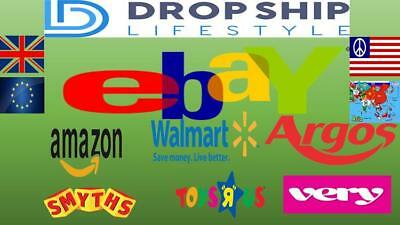 Copy my business  make money working from home, dropshipping from Amazon to eBay