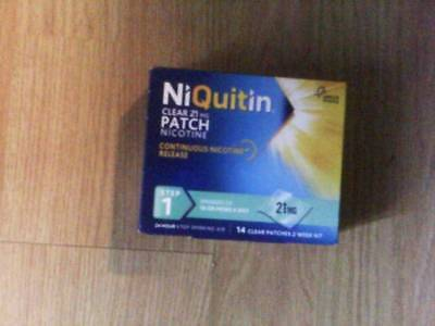 Niquitin 21mg 14 patches