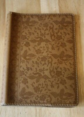 Leather Tooled Book Cover Made in France