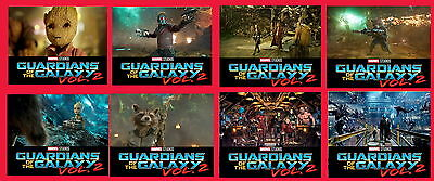 Guardians Of The Galaxy Vol.2  x8 movie lobby cards photo rare poster  full set