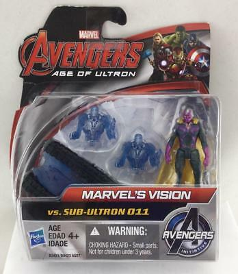 Avengers Age Of Ultron Marvel's Vision Vs Sub Ultron 011 Action Fig. 2-Pack(272)