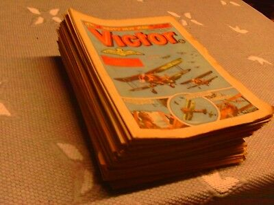 Victor Comics Job lot X 53, (1981-1982 ).