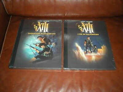 Xiii Grand Format Dos Toile Le Figaro Lot Des Tomes 15 Et 16 Neufs Sous Blister