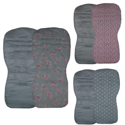 Grey Designs - Seat Liners to fit SX Reflex, Pop or Zest pushchairs - Reversible