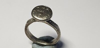 Medieval Silver Ring 8th-10th c. AD