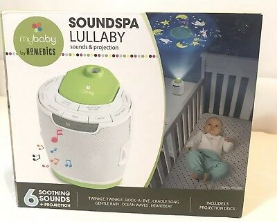 MyBaby Soundspa Lullaby Sound Machine and Projector by HOMEDICS