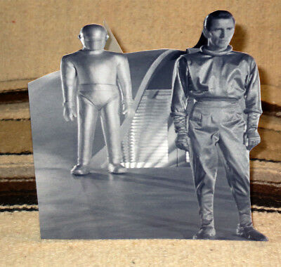 1951 The Day the Earth Stood Still Robot Gort B&W Tabletop Display Standee 8.5""