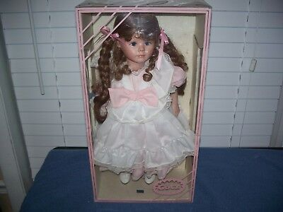 "Vintage Gotz 19"" Porcelain Doll for Marshall Fields from West Germany"