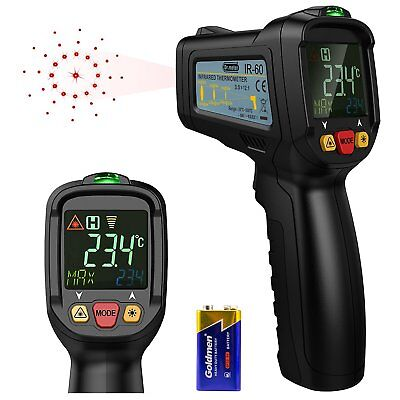 [Infrared Thermometer] Dr.meter Non-Contact Laser Thermometer FDA Approved Gun -