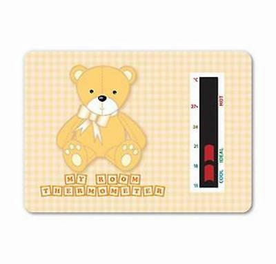 Baby Bear Room Thermometer  Beige