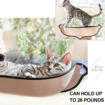 Cat Window Bed Hammock Seat Perch Mounted Sofa Mat Pad Hanging Cushion 71 x 28cm