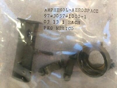 AMPHENOL AEROSPACE INDUSTRIAL, 97-3057-1010-1, Cable Clamp w. Bushing, #18