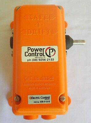 Electric Control Safe -T- Drift Std-P-D-K Belt Misalignment Switch Dual Switch