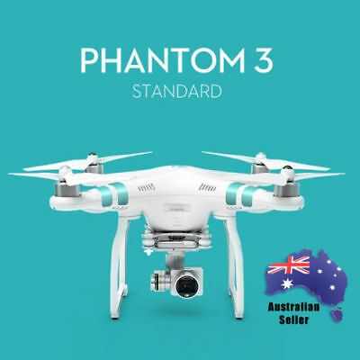 DJI Phantom 3 Standard Drone with Integrated 2.7K HD Stabilised Camera